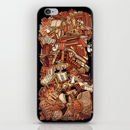 Book history iPhone Skin