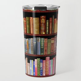 Vintage books ft Jane Austen & more Travel Mug