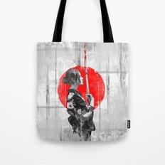 Samurai Girl Tote Bag