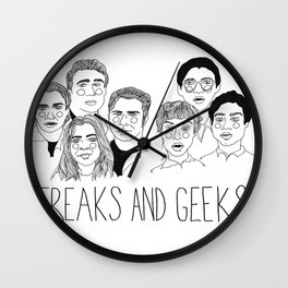 Freaks and Geeks Wall Clock
