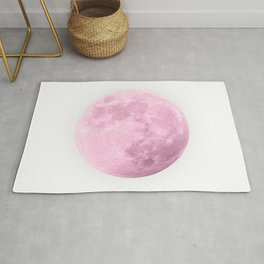 COTTON CANDY PINK MOON Rug