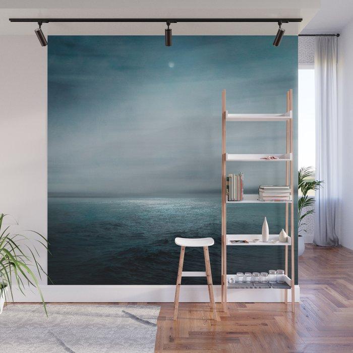 Sea Under Moonlight Wall Mural