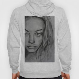 Coal portrait beautiful girl Hoody