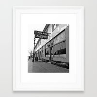 oakland Framed Art Prints featuring Oakland Tavern by Vorona Photography