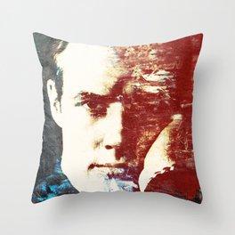 Idols - Marlon Brando Throw Pillow