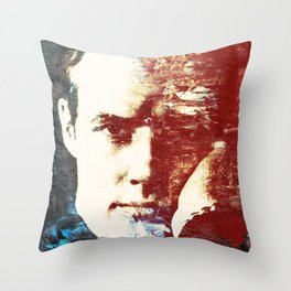 Idols - Marlon Brando Throw Pillow