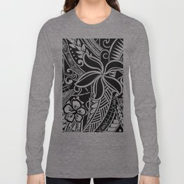 Tribal Tiare Long Sleeve T-shirt