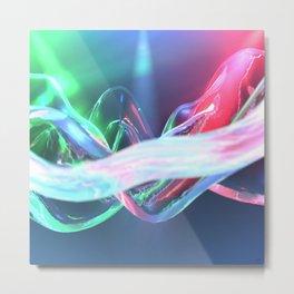 #Additive #Waves - 20151018 Metal Print