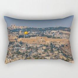 Jerusalem of Gold Rectangular Pillow