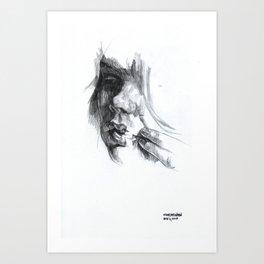 NaNoDrawMo 2010 - 11 Art Print