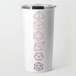 DND Dice Vertical Travel Mug