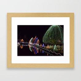 Hershey Lights Framed Art Print