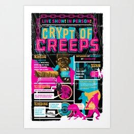 Spook Show Tribute Poster 04 Art Print