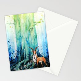 """""""At the tree's feet"""" Stationery Cards"""