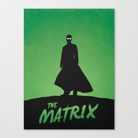 matrix Canvas Prints featuring Matrix by Nick Kemp