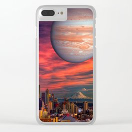 Spacenoodle Clear iPhone Case
