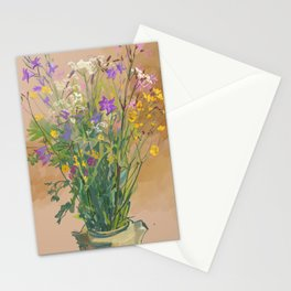 Bouquet of Field Flowers Stationery Cards