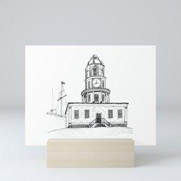Halifax Town Clock Mini Art Print