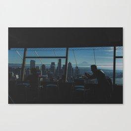 Through Washington. Canvas Print