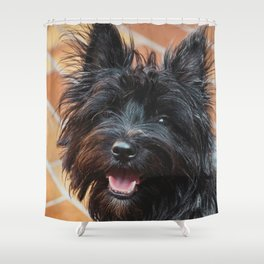 Dog by Jp Valery Shower Curtain