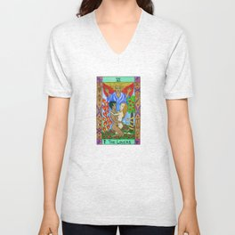 The Lovers - Tarot Unisex V-Neck