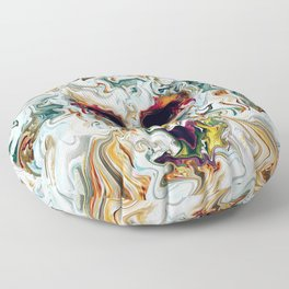 Skull Floor Pillow