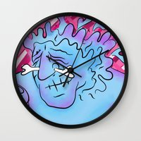 medicine Wall Clocks featuring medicine man. by BRUM.