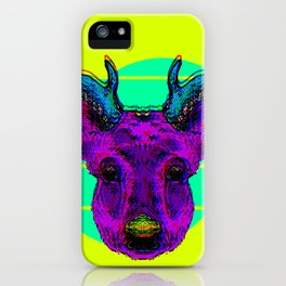 Future Deer iPhone Case