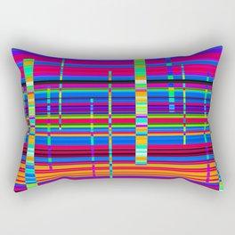 Re-Created Urban Landscape XXX by Robert S. Lee Rectangular Pillow