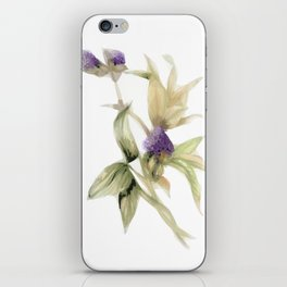 Garden Flowers Painting 06 iPhone Skin