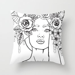 Rose to the Occasion Throw Pillow