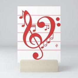 Love Music ~ Valentines Edition ~ Mini Art Print