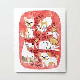 Year of the Dog Metal Print