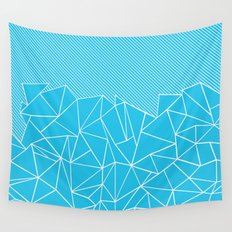 Ab Lines 45 Electric Wall Tapestry