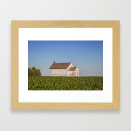 Ingersoll School, North Dakota 17 Framed Art Print