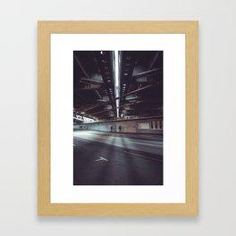 i am vertical Framed Art Print