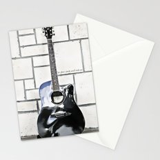Be Your Song and Rock On in White Stationery Cards
