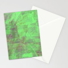 green seas of Mars Stationery Cards