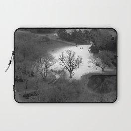 """white & black (Wien) """"GEOROMANTIC"""" series Laptop Sleeve"""