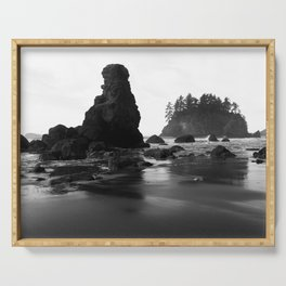 Trinidad State Beach, Humboldt County California Serving Tray