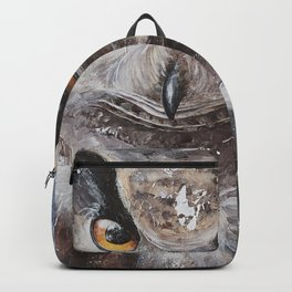 "The Owl - ""Watch-me!"" - Animal - by LiliFlore Backpack"