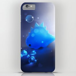 crystal dino iPhone Case