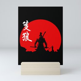 The One Armed Wolf Mini Art Print