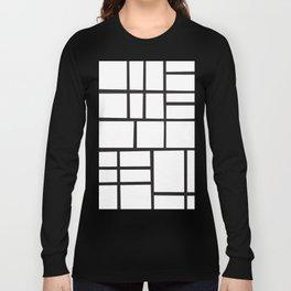 Mondrian Variation 4 Long Sleeve T-shirt