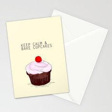 keep calm Stationery Cards