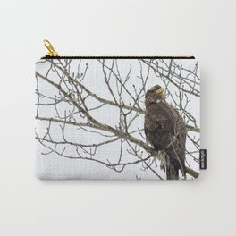 Young bald eagle in Alaska Carry-All Pouch