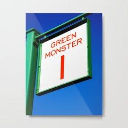 Green Monster Metal Print