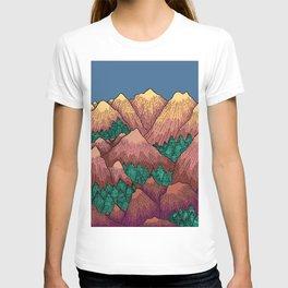 Natural Mountains T-shirt