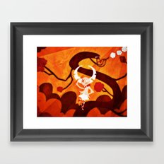 Root To The Sky Framed Art Print