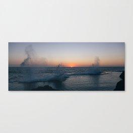 Fleeting Sun Canvas Print